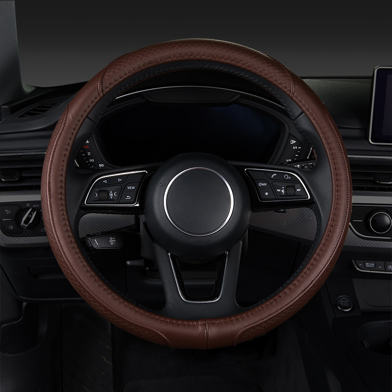 Car steering wheel cover,auto accessories for jac j3 j5 s2 s3 s5 Jaguar f-pace xf xj