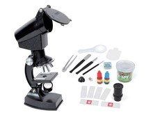 Christmas gift birthday gift 1200X Pupils child science experiment brain game Science microscope suits Biological Microscope