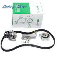 NEW 06A 121 012 G Water Pump & Timing Belt Tensioner Kit For VW Passat Audi A4 S4 A6 S6 Seat Skoda 1.8/2.0L 06B109477A 530018110