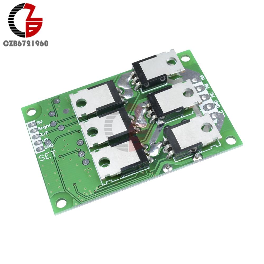 DC Motor Controller Board 500W 12V DC Brushless Motor PWM Speed Control  Regulator BLDC Motor Driver Board DC 12V-36V