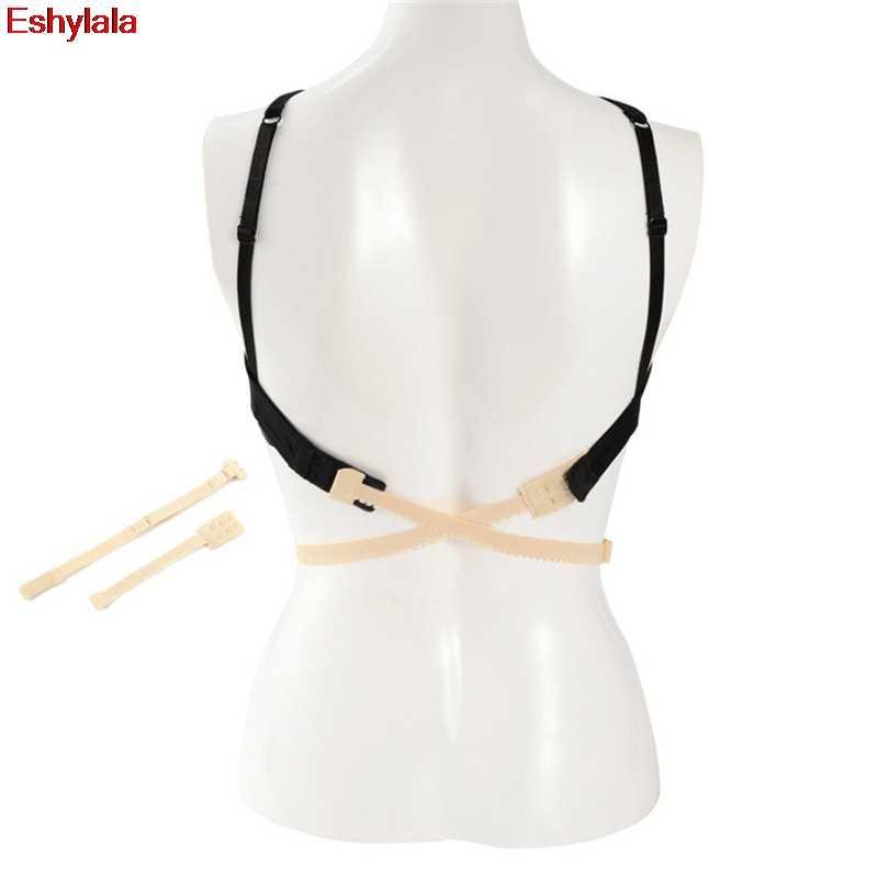 49653d6ecfc2c ... 1pcs Low Back Bra Straps Converter Sexy Fashion Bra Belt for Low-back  Dresses Backless ...