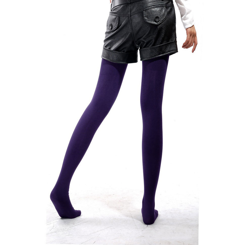 1Pc Purple Spring/ Autumn / Winter Women Tights Fashion Pantyhose Warm Tights Winter Pantyhose Womens Tights Pantyhose For Girl