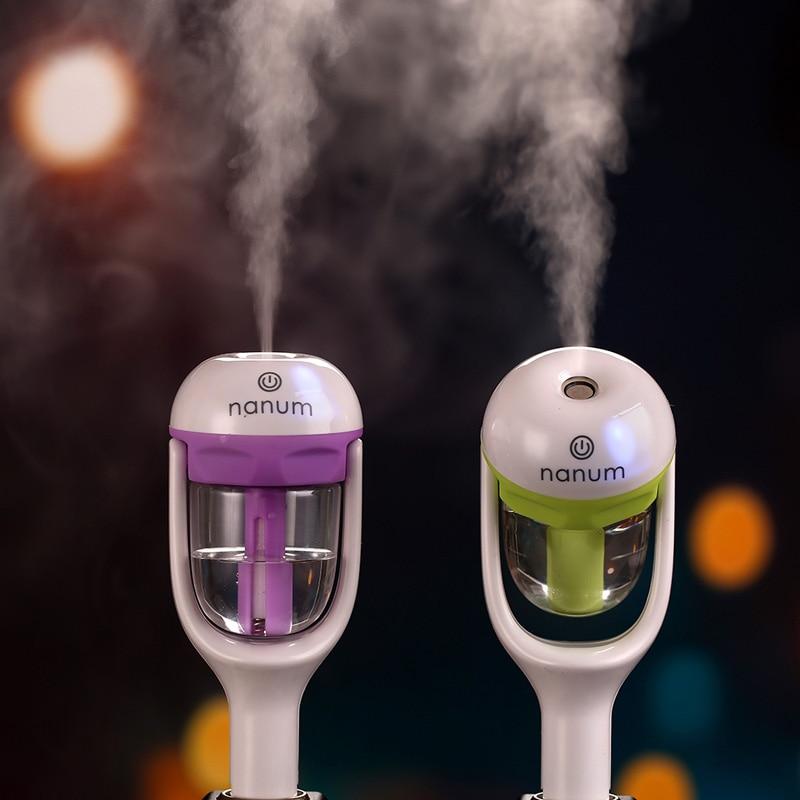 12V Car Humidifier Auto Mini Air Purifier Freshener Car Portable Air Purifier Aroma Diffuser Essential Mist Maker With Package