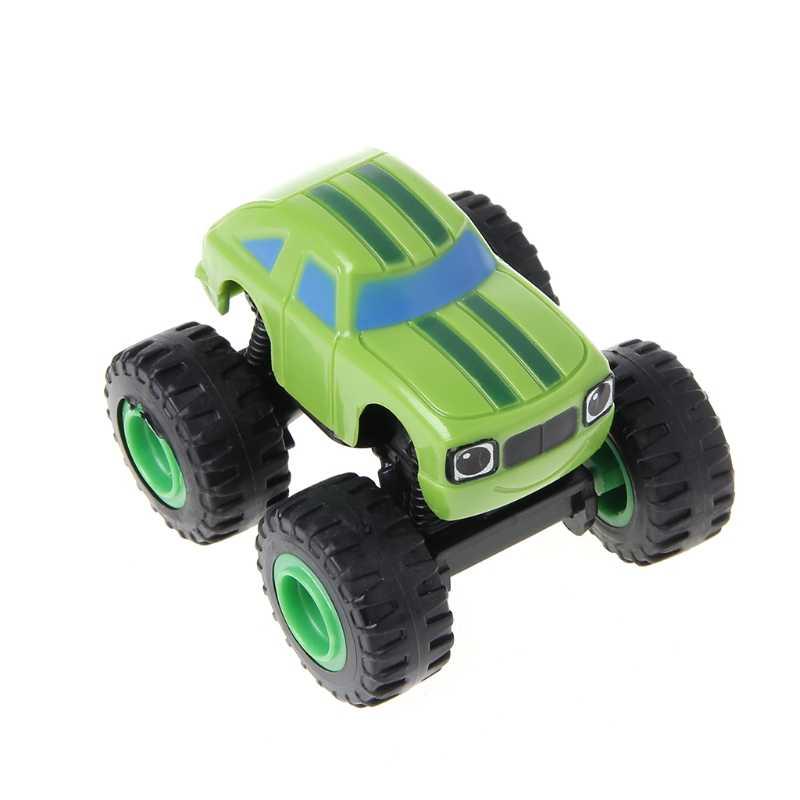 6 Pcs Api Kendaraan Mobil Pembalap Truk Hadiah untuk Anak-anak Diecast Mainan Mainan Diecasts Mesin Baru