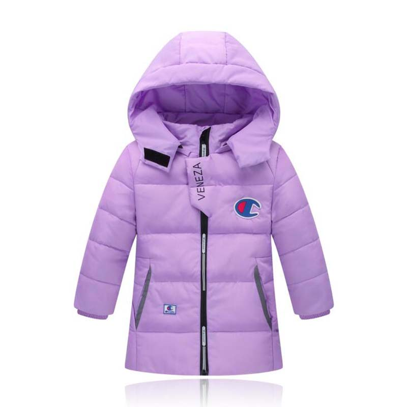2017 Children fashion Jackets boys girls hooded coats autumn winter outwear casual kids White Duck Down jackets for 4-10 Years buenos ninos thick winter children jackets girls boys coats hooded raccoon fur collar kids outerwear duck down padded snowsuit