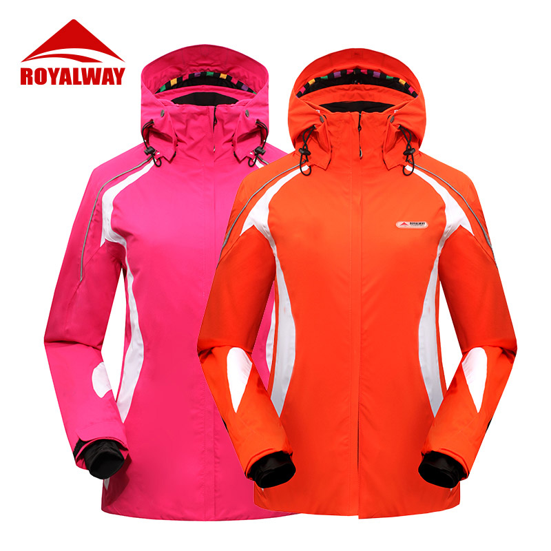 ROYALWAY Women Skiing Jacket Snowboard Jacket For Women Ski Clothes Waterproof Windproof Breathable Skiing Jackets# RFSL4519G ...
