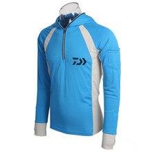2018 New DAIWA DAWA Fishing clothing Anti-UV Protection Men Quick drying design Fishing shirt Long Sleeve Fishing vest