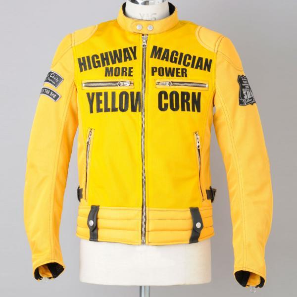 New YELLOW CORN YB-3109 MESH JACKET(YELLOW) yoursfs yellow
