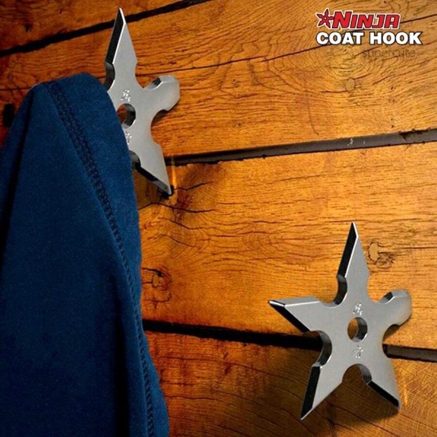 Фотография Крючок для одежды в виде сюрикена