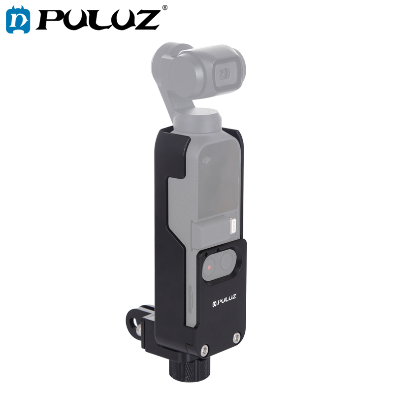 PULUZ Housing Shell CNC Aluminum Alloy Protective Cover for DJI OSMO Pocke