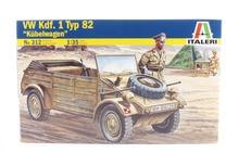 Out of print ITALERI 312 1 35 DEUTSCHER VW TYP 82 KUBELWAGEN