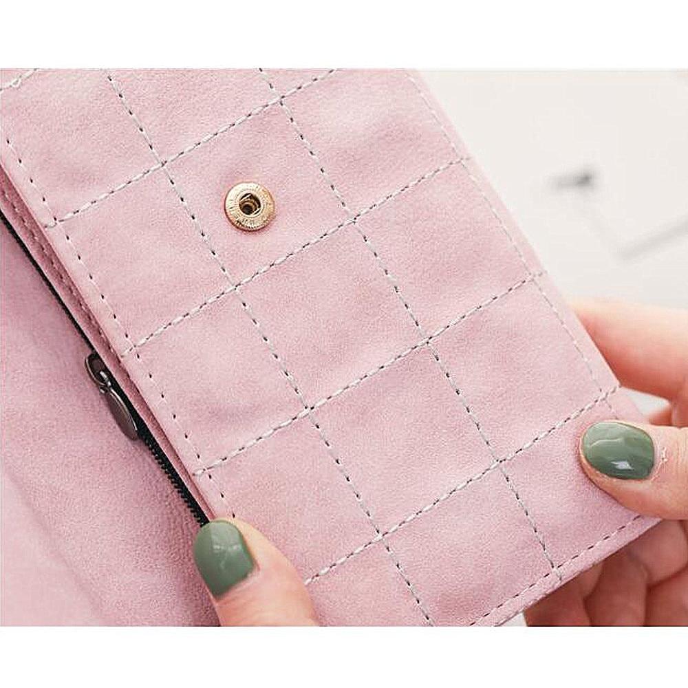 Kvinnor plånbok med kreditkortsinnehavare Telefonhållare Mode - Plånböcker - Foto 6