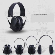 цена на Electronic Ear Protection Shooting Hunting Ear Muff Anti-Noise Tactical Headset Hearing Ear Protection Headphone for Hunting