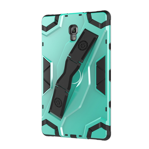 "For Samsung Galaxy Tab A 10.5"" Shockproof 2018 T595 SM-590 T597 Tablet Back hard Armor Cover Samsung Tab A PU+PC Heavy Duty Case Multan"