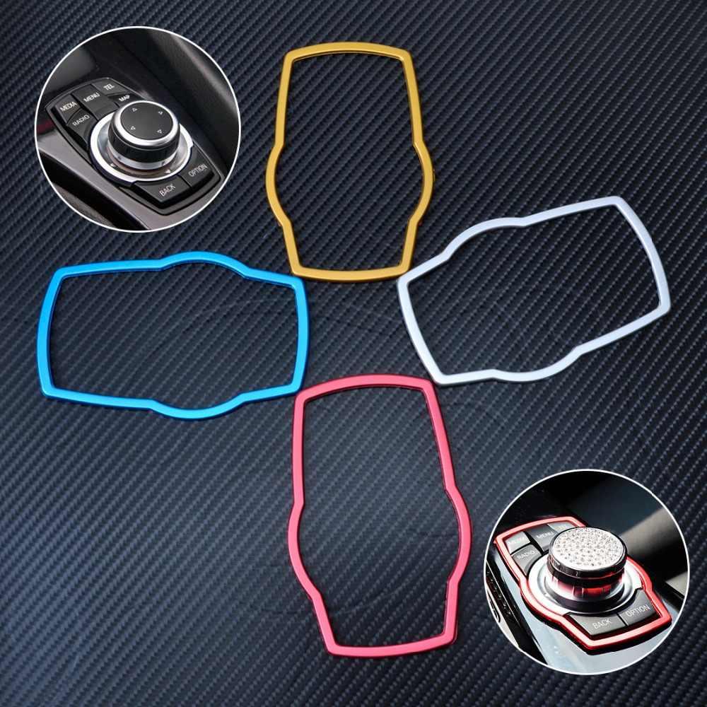 CITALL רכב פנים מולטימדיה כפתורי לקצץ כיסוי דפוס עבור BMW 1 3 4 5 7 סדרת X1 X3 X4 X5 x6 F34 F32 F10 F11 E38 2013 2014