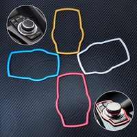 CITALL Car Interior Multimedia Buttons Trim Cover Molding For BMW 1 3 4 5 7 Series X1 X3 X4 X5 X6 F34 F32 F10 F11 E38 2013 2014