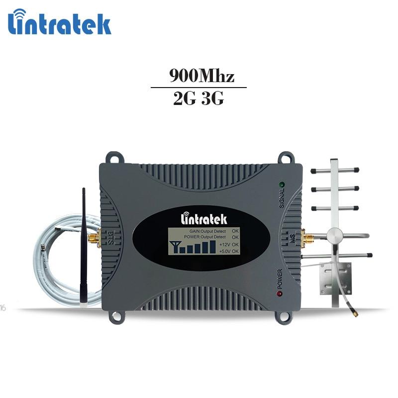 Lintratek GSM celular signal repeater GSM 900 mhz handy signal booster gsm handy verstärker 2g repetidor 65dBi 2g repeater #6