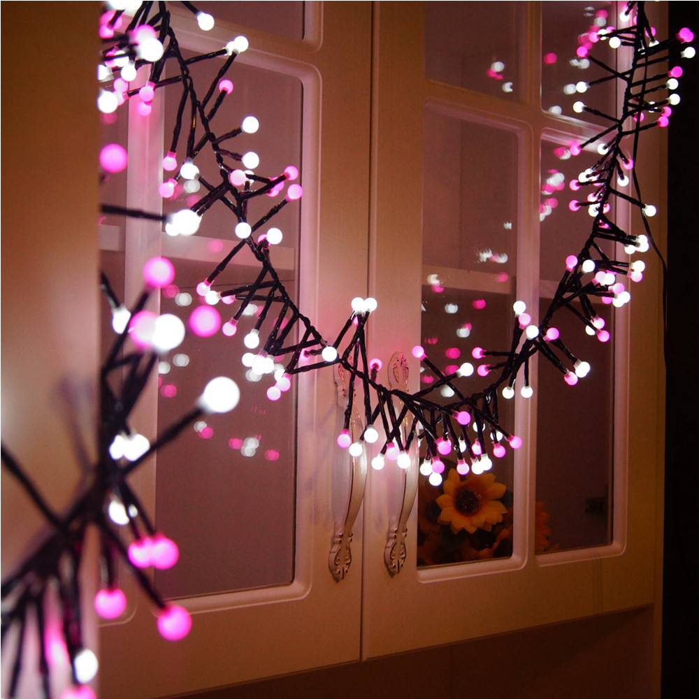 diy christmas lighting strings home furnishings double color firecracker lamp party supplies home christmas decorative lights in pendant drop ornaments