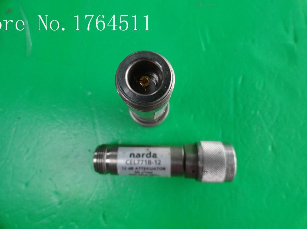 [BELLA] NARDA CEL771B-12 0.8-2.2GHz 12dB 2W N Coaxial Fixed Attenuator