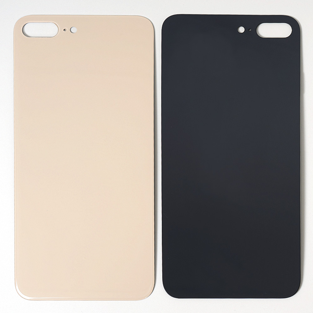 High Quality For iphone 8 8 Plus X XR XS Back Glass Housing + Adhesive Rear Crystal Panel Plate Battery Cover Lid Shell 8