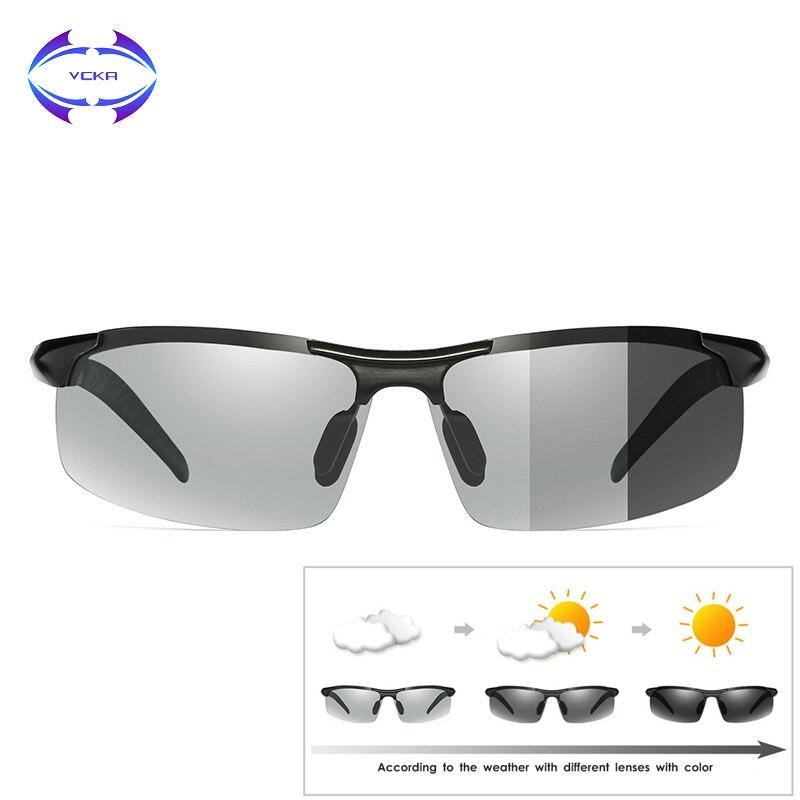 VCKA 2019 Photochromic Sunglasses Mens Polarized ...