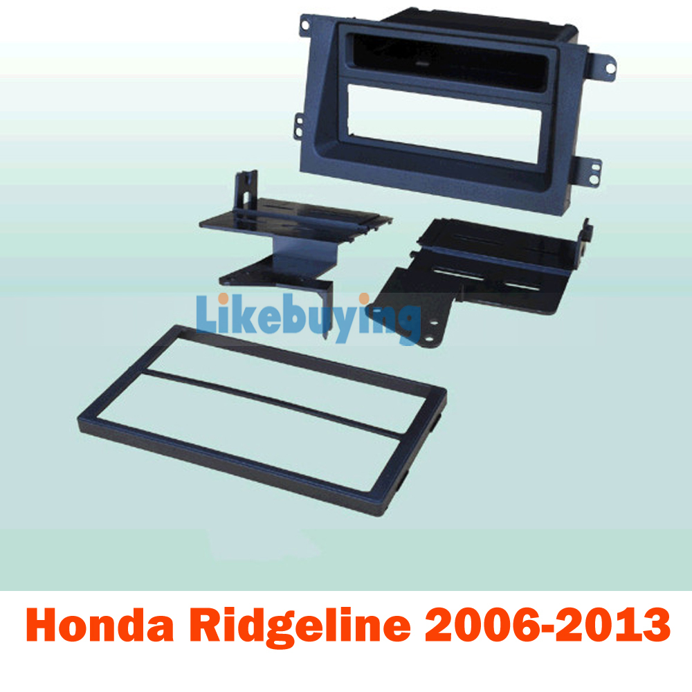 2 Din Car Fascia Frame / Audio Panel Frame / Car Dash kit / Frame Kit For Honda Ridgeline 2006-2013 Retail / Pcs Free Shipping ityaguy fascia for ford ranger 2011 stereo facia frame panel dash mount kit adapter trim
