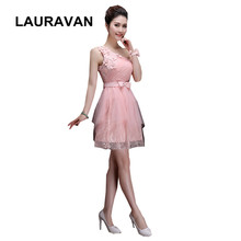 pink vintage style special occasion sweetheart one shoulder girls elegant  dresses for teens bridesmaid short ball gown dress ec1586326926