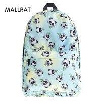 Who Cares Eomji Panda Print Backpack Women Mochila Necessaire School Bags Bookbag For Teenage Girls Sac