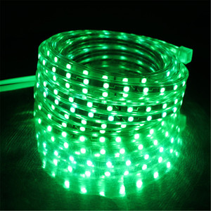 Image 5 - SMD 5050 AC220V LED Strip Flexible Light 60leds/m Waterproof Led Tape LED Light With Power Plug 1M/2M/3M/5M/6M/8M/9M/10M/15M/20M