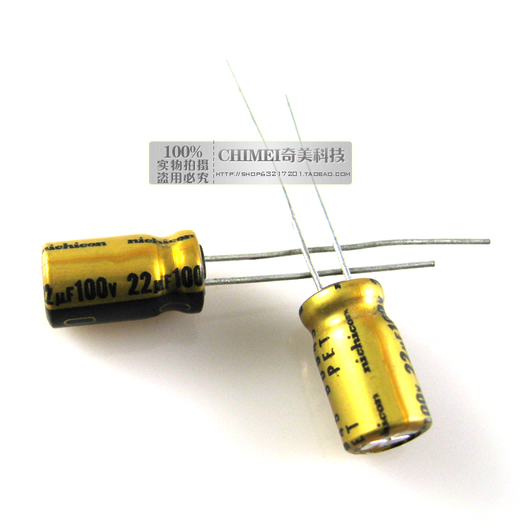 Electrolytic Capacitor 100V 22UF Capacitor