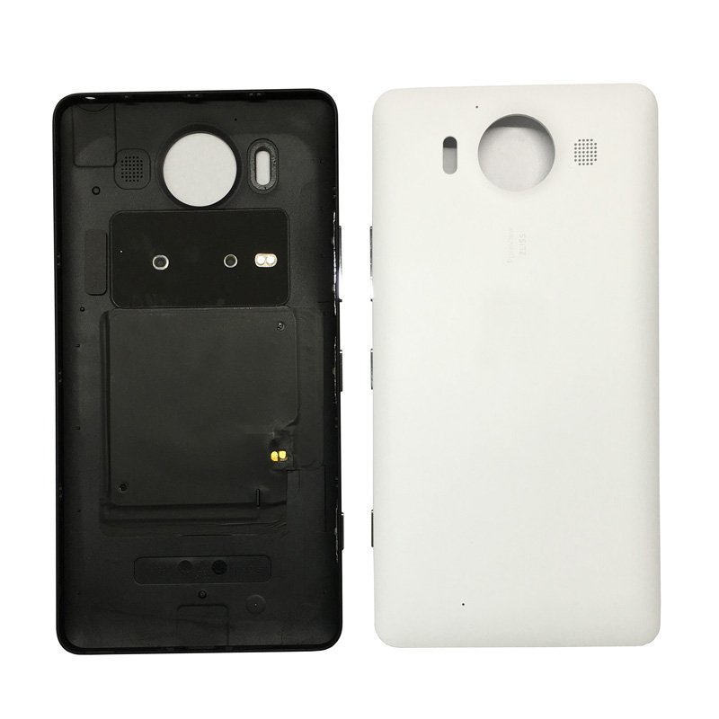 detailed pictures 0e1fc 9075b For Microsoft lumia 950 Back Cover Case Genuine lid Battery Cover  Replacement for Nokia lumia 950 NFC Housing-in Fitted Cases from Cellphones  & ...