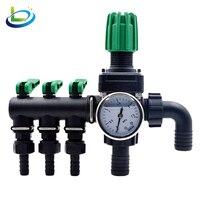 LiXing Воды Дистрибьютор сельскохозяйственных водопровод разъем клапана шланга адаптер разъем орошения сада