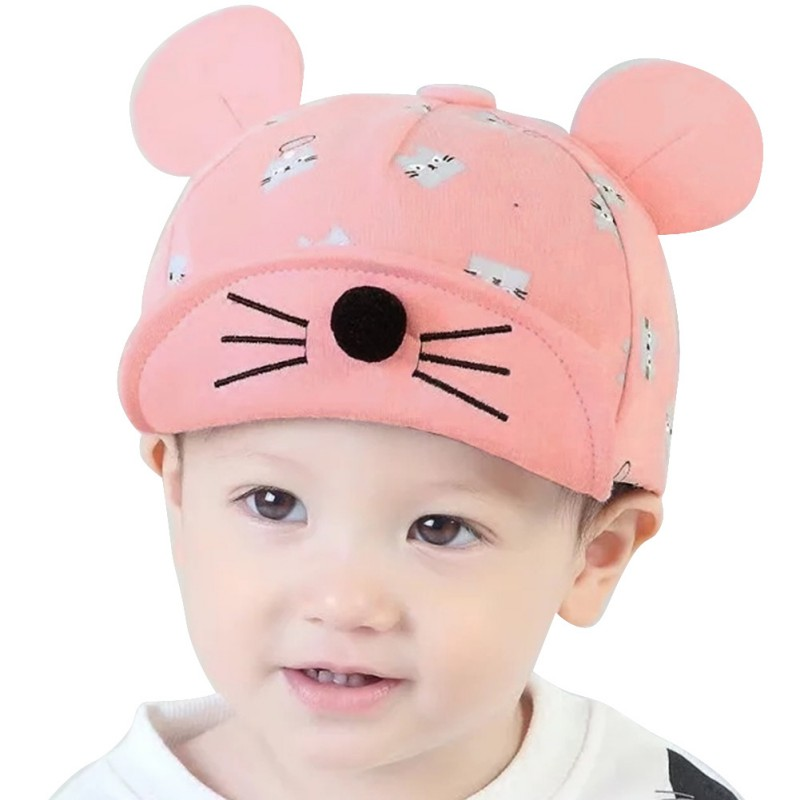 Infant Kids Girls Baby Cotton Boy Summer Baseball Cap Little Ear Hat Sun Hat