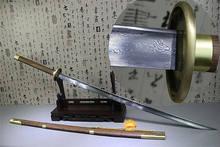 Épée de combat KungFu de haute qualité, lame en acier pliable, aiguisée et faite à la main