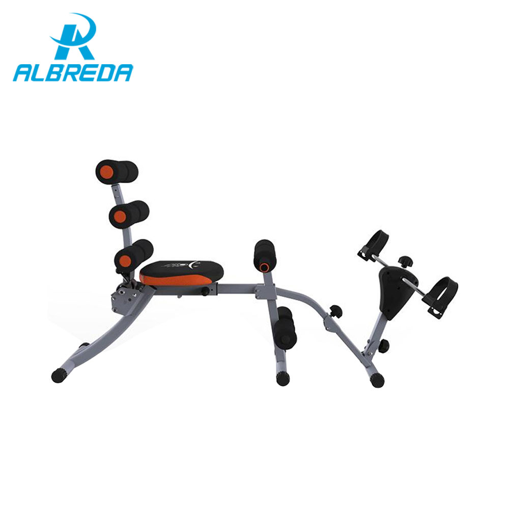 ALBREDA Fitness Equipment Multifunctional sit up board abdomen machine home fitness equipment men and women Slimming artifact electric heating waist belt protector for intervertebral strain lumbar support heating uterus stomach suited for men and women