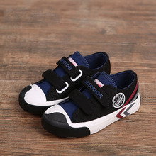 2016 New Autumn Children Brand Canvas Shoes Boys Sports Casual Striped Shoes Kids Girls Breathable Shoes Size 23 37