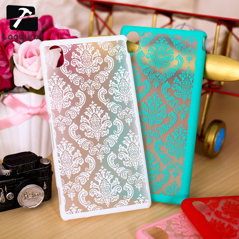 TAOYUNXI 3C Products Store Plastic Case for Sony Xperia M4 Aqua E2303 E2353 E2306 Dual E2333 E2363 E2312 M4Aqua 5.0 inch Case Palace Paper Cut Flower Case