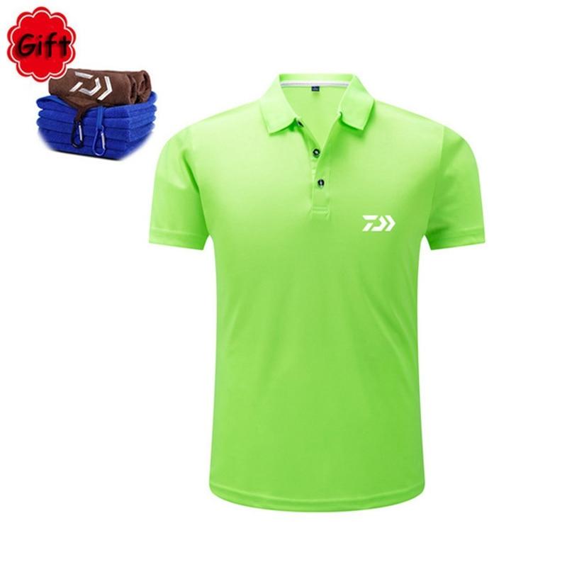 Fishing Clothings Men Summer Cotton Fishing Shirt Short Sleeve Sunproof Sport Fishing Clothes T Shirt Running Tops Jersey