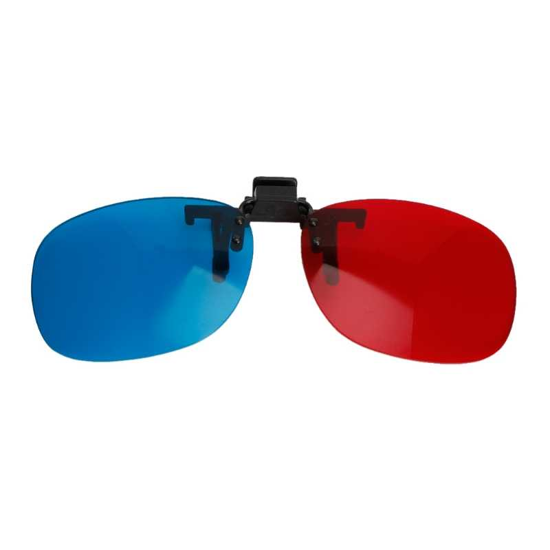 Red Blue Glasses Hanging Frame 3D 3D Glasses Myopia Special Stereo Clip Type