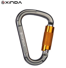 XINDA Professional Tension Safety Supervivencia Carabiners Climbing Equipment Hiking Survival Kit  Buckle Rock 25KN