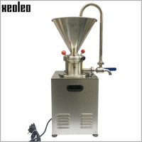 Xeoleo Commercial Peanut butter maker 1500W Stainless steel Butter machine Nut Grinder 30kg/h Sesame butter Grinding machine CE