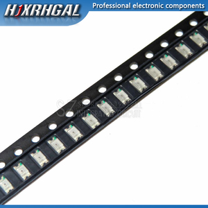 Image 2 - 1Reel 3000pcs 1206 SMD LED diodes light  yellow red  green blue White  new and original hjxrhgal