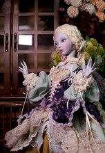 Bjd sd boneca 1/4 ellana um presente de aniversário alta qualidade articulado brinquedos de fantoche presente dolly modelo coleção nu