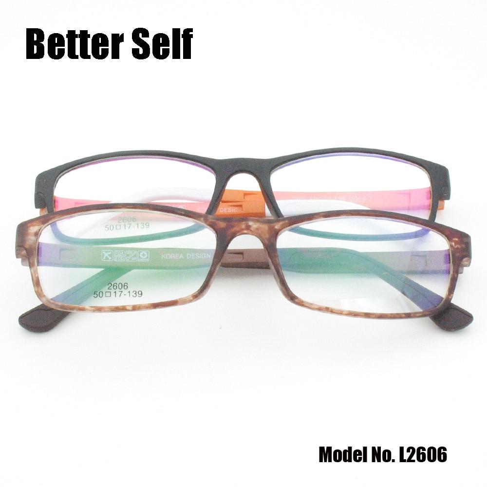 af22797fbf1 Better Self L2606 PC Glasses Optical Eyewear Rectangle Optics Imitate Ultem  Lazy Retro Eyewear Men Woman