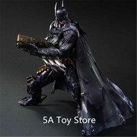 Play Arts Kai DC Batman Armored Ver. PVC Action Figure Collectible Model Toy 26CM