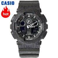 Casio Часы G SHOCK мужские спортивные часы кварцевые Многофункциональные уличные водонепроницаемые g shock часы GA 100CG