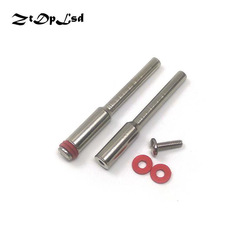 ZtDpLsd 2Pcs 2.35/3/3.17mm Circular Saw Blade Connecting Rod Rotary Tool Shank Woodwork Dremel Electric Mini Drill Accessories