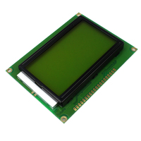 Smart Electronics 128 64 DOTS LCD Module 5V Yellow And Green Screen 12864 LCD With Backlight