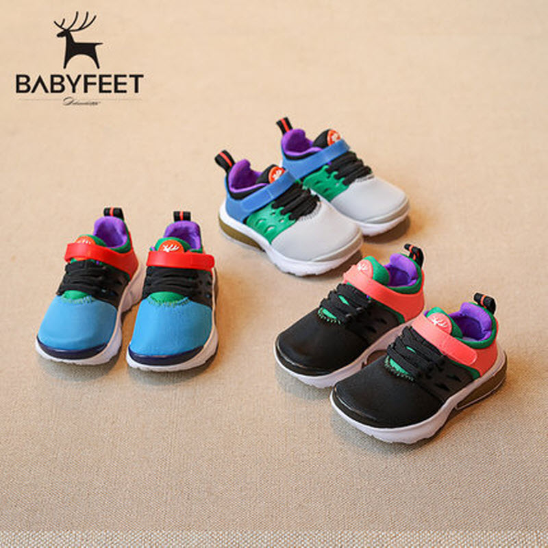babyfeet Children sneakers toddle shoes breathable Mesh shoes Boys tenis infantil girls sport shoes running Shoes Kids trainers babyfeet 2017 winter children shoes fashion warm suede leather sport running school tenis girl infant boys sneakers flat loafers