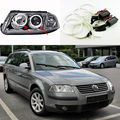 Para volkswagen vw b5.5 passat 3bg 2001 2002 2003 2004 2005 Excelente Ultrabright iluminación CCFL angel eyes kit Angel Eyes kit